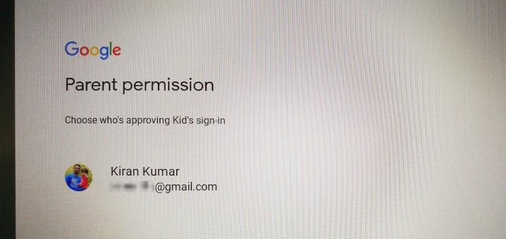 Parent Permission
