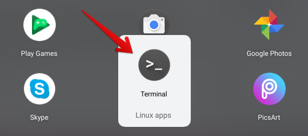 Opening the Linux Terminal